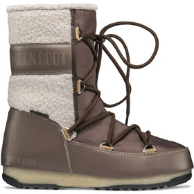 Moon Boot Monaco Wool Wp Mid Winter Boots Dames, mud